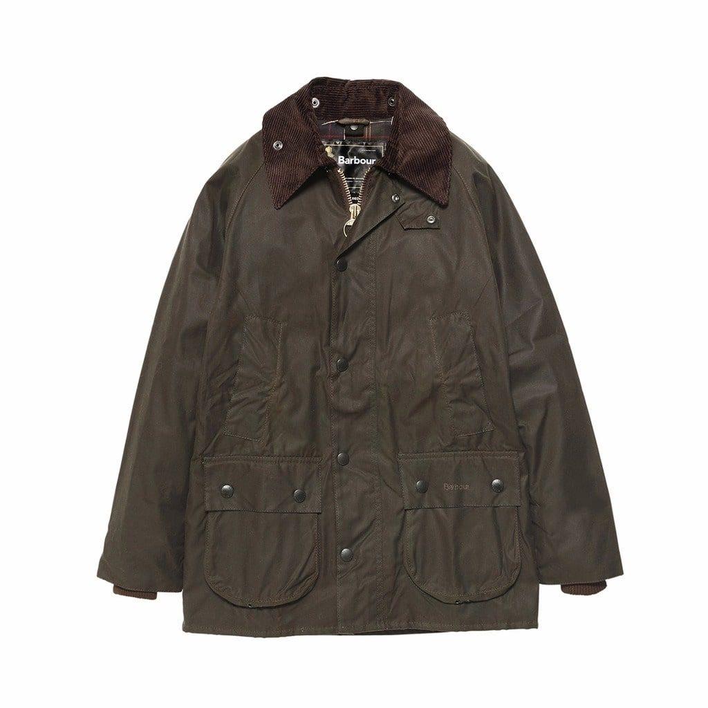 オリーブ色のビデイルジャケット