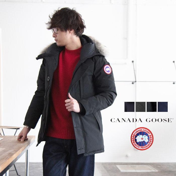 カナダグースジャスパーの説明のための着用写真