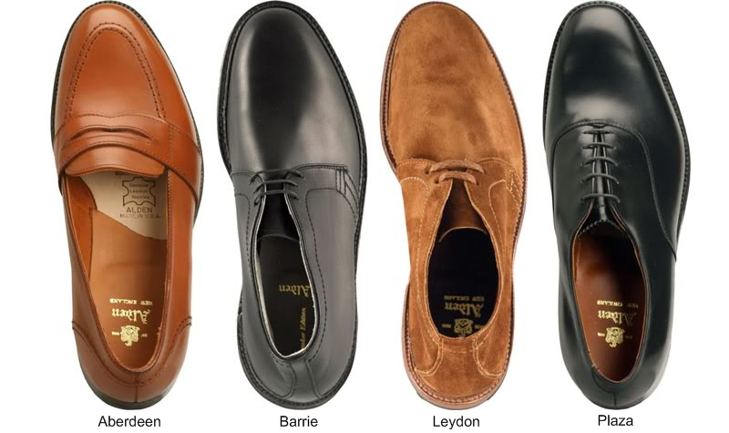 オールデンの革靴4足