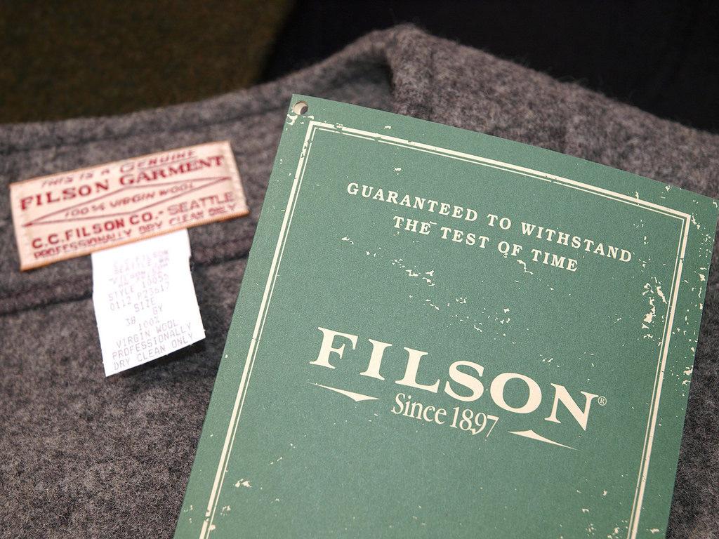 フィルソンのブランドタグ