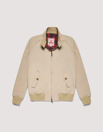 ベージュ色のバラクータG9ジャケット
