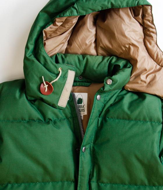 シエラデザインのダウンジャケットは今が旬『サイズ感と特徴を紹介』