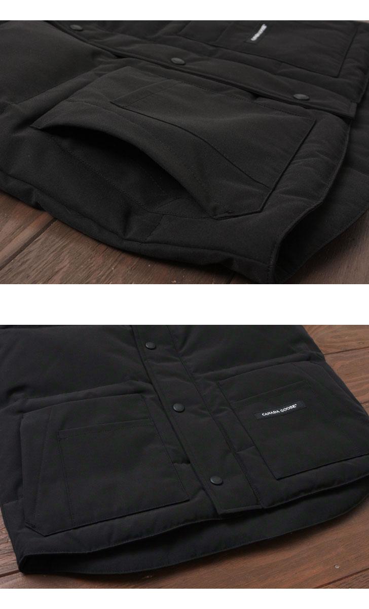 フリースタイルベストのポケット