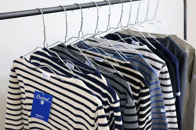 オーシバルのバスクシャツ