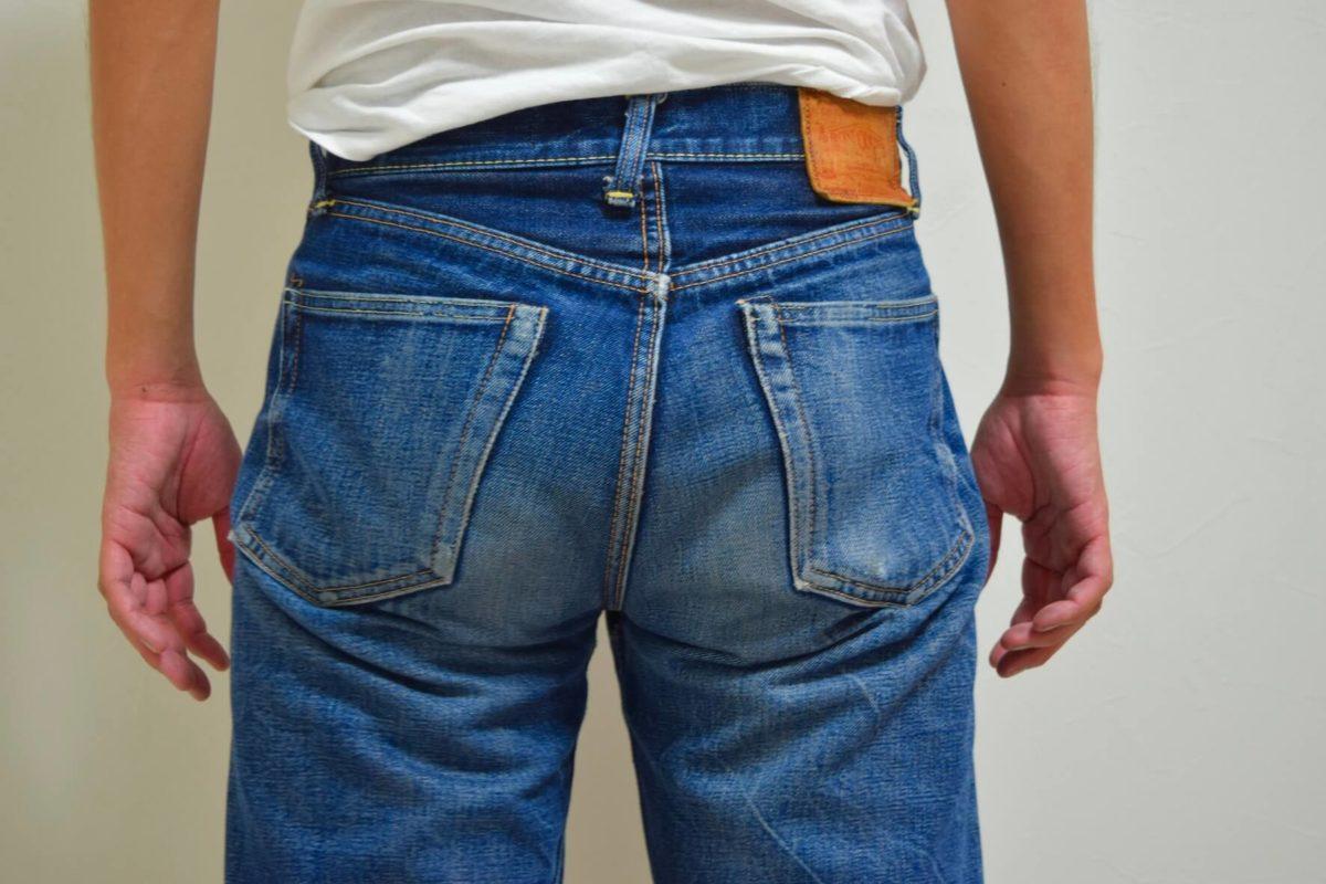 デニムのバックポケット