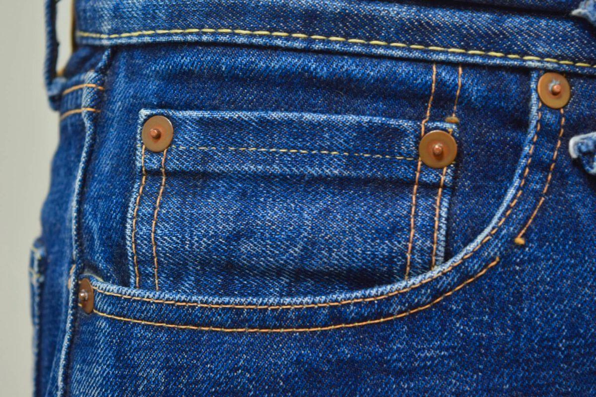 デニムのコインポケット