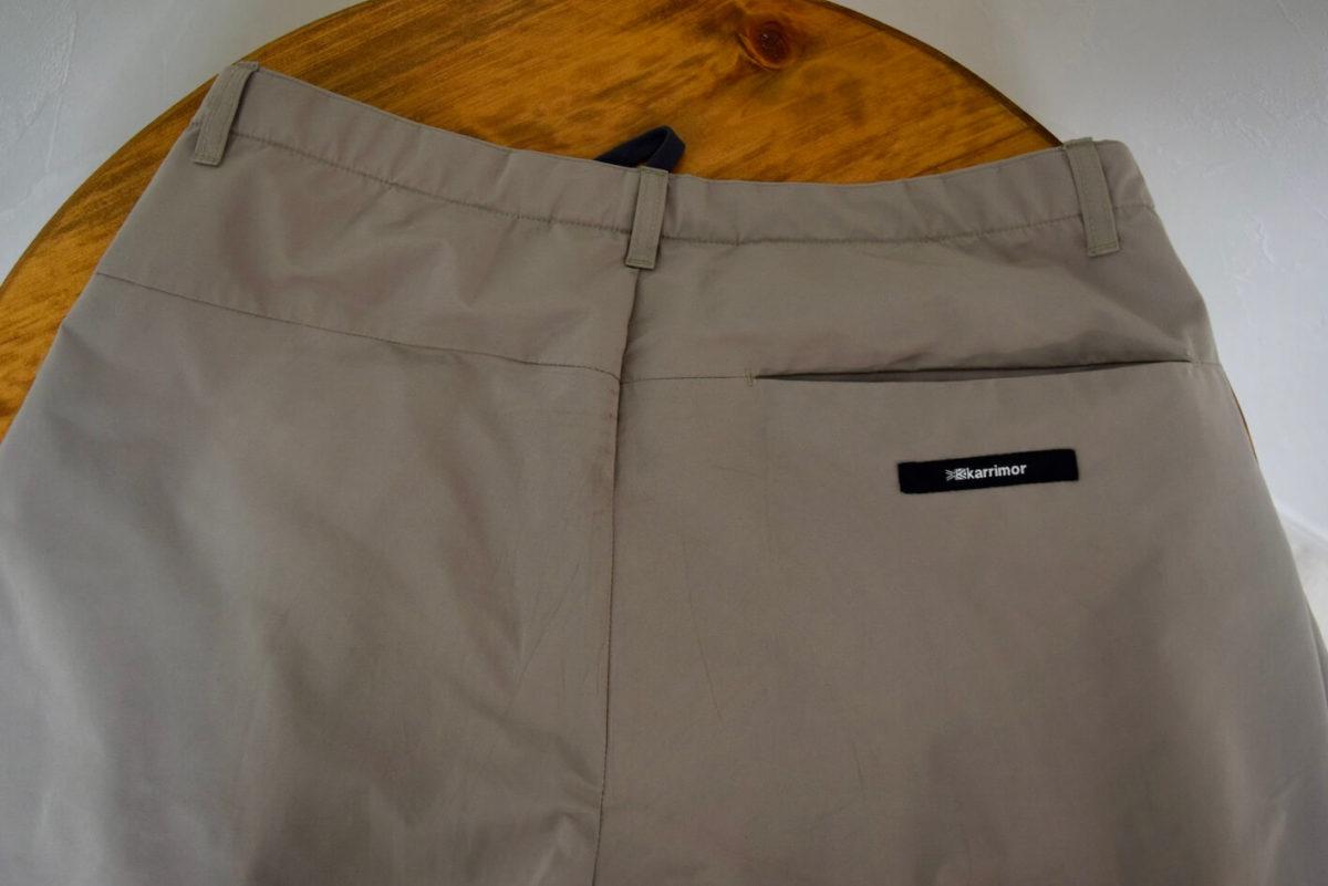右側のバックポケット