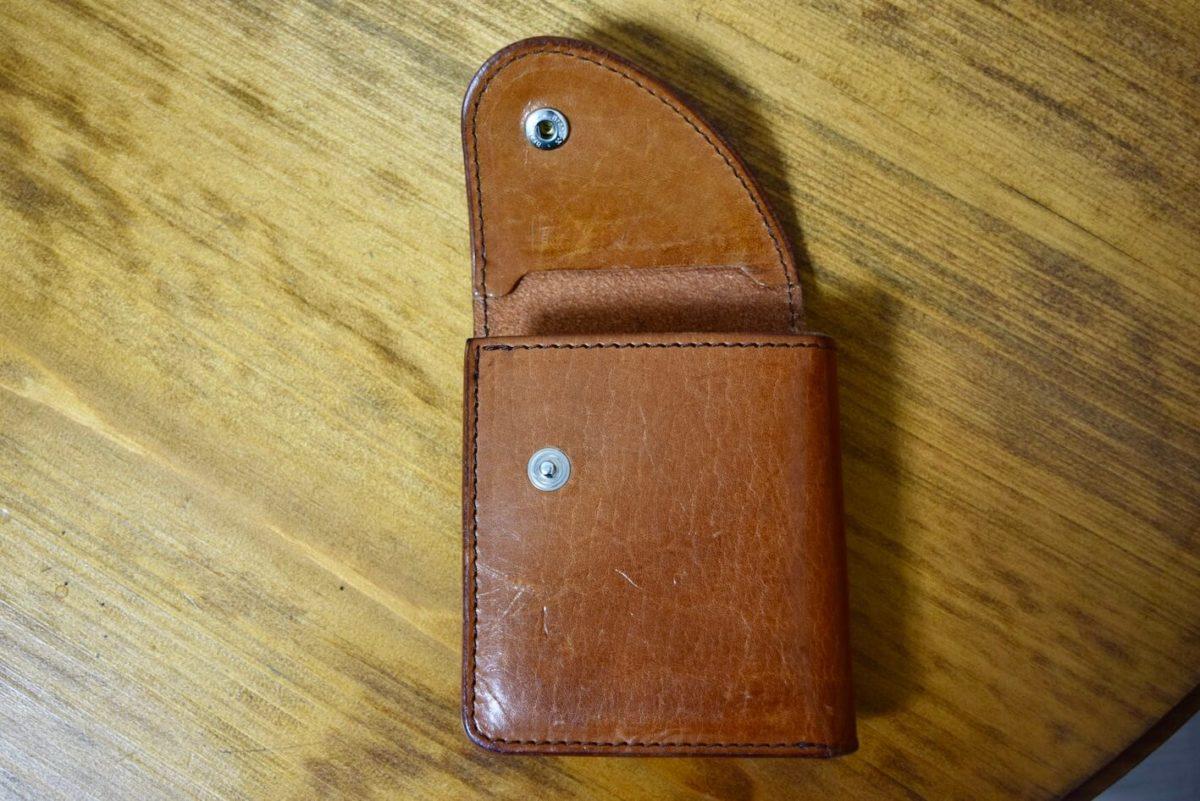 Walletを折りたたんだ写真