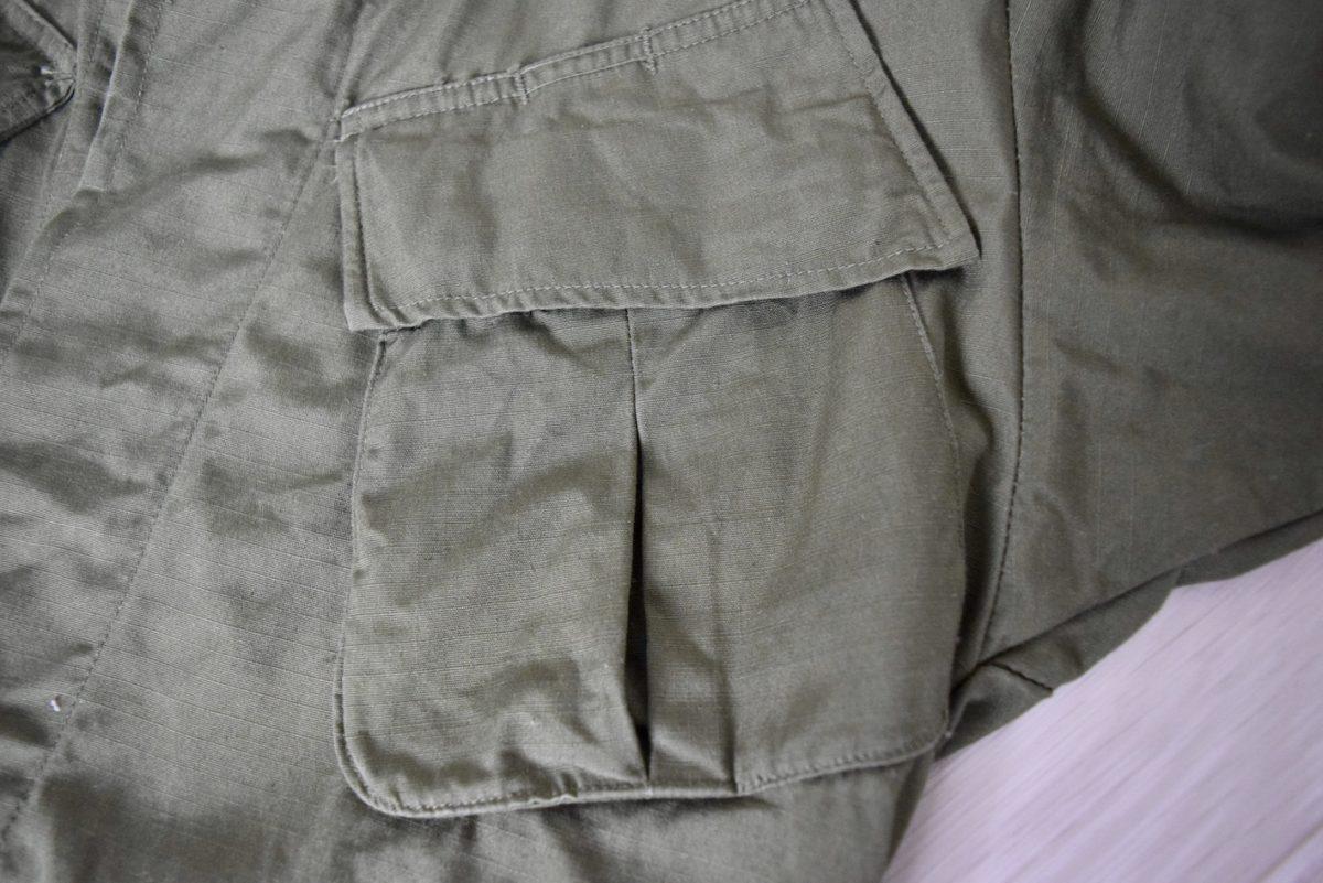 乾燥機を掛ける前のフロントポケット