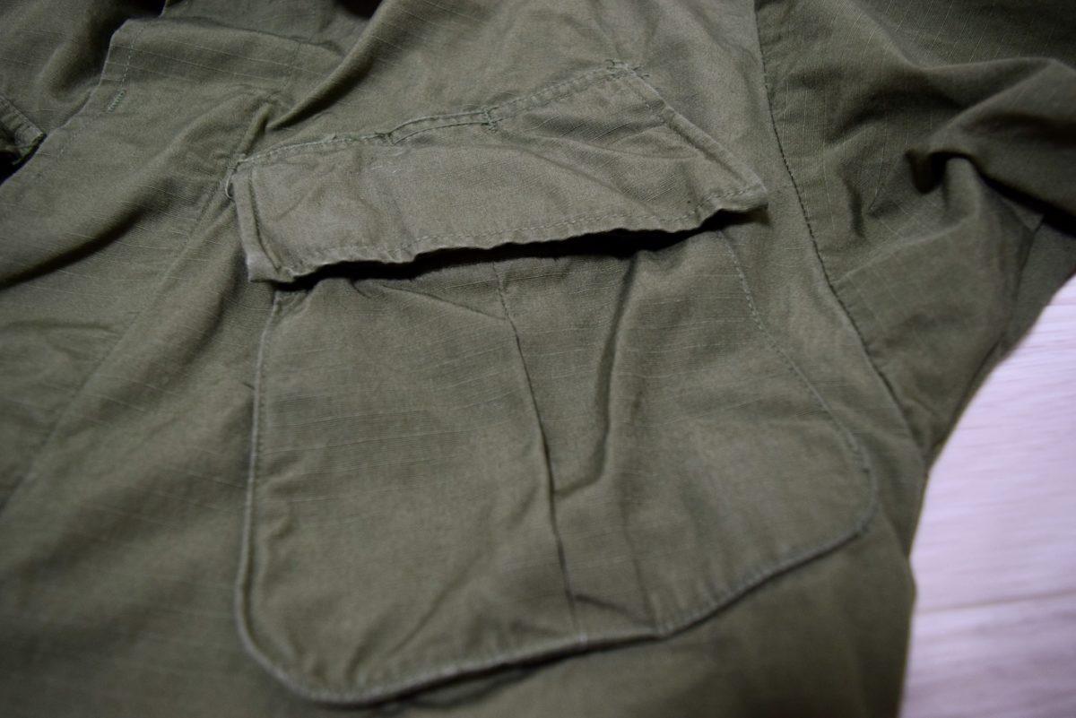 乾燥機をかけた後のフロントポケット