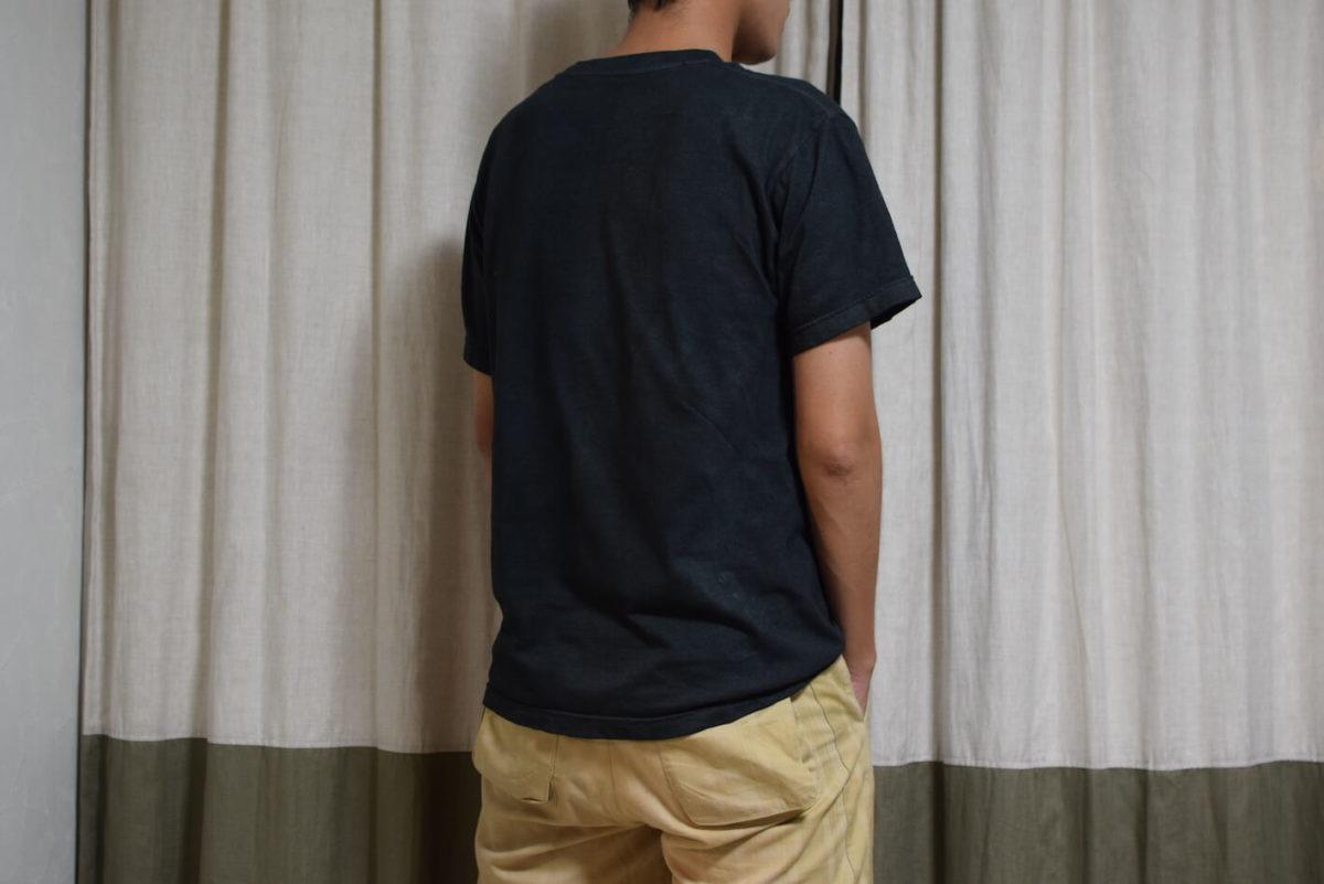 白tシャツが真っ黒に返信