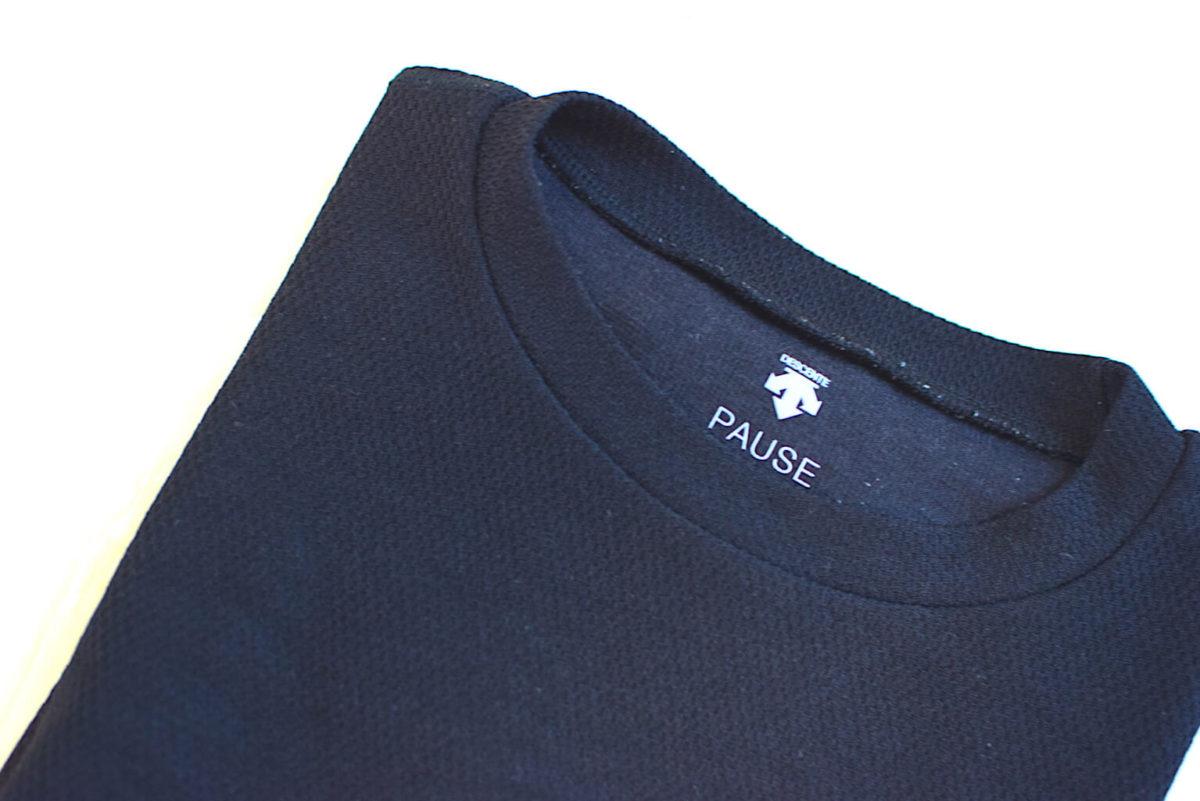 デサントポーズのビッグサーマルTシャツ