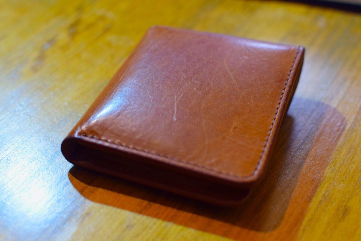 1日後のエンダースキーマーの財布