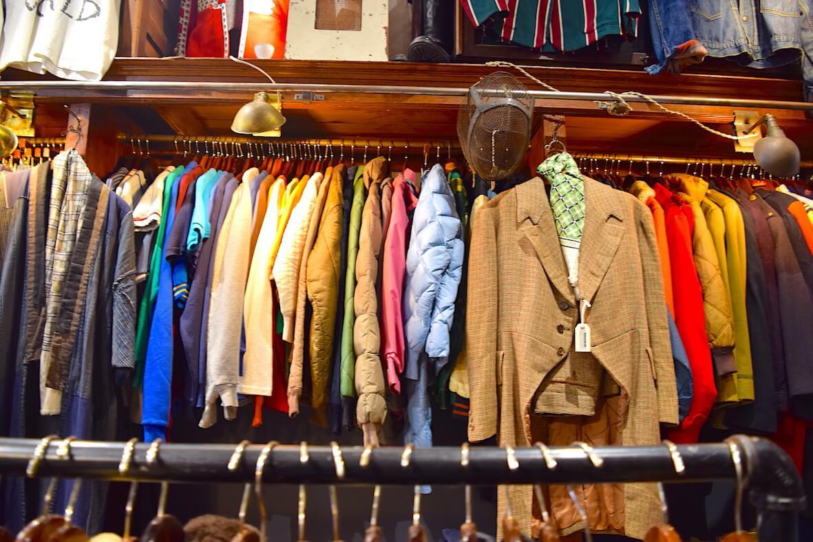 ニューヨークの古着屋さんの写真