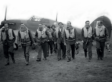 イギリス空軍がベンタイル素材のジャケットを着用