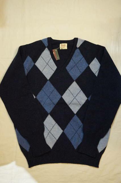 アーガイルセーター