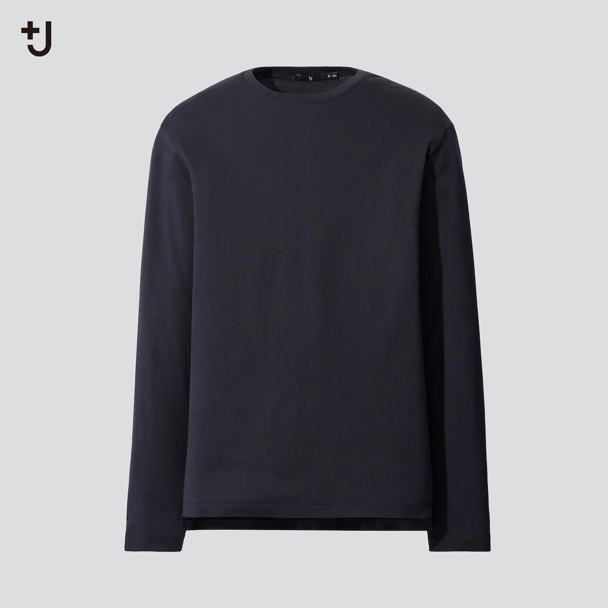 +jのクルーネックシャツ