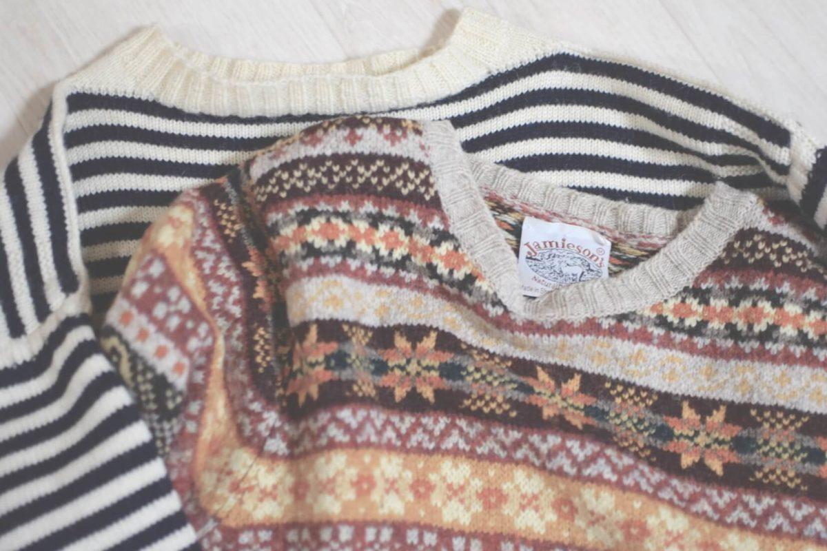 2着のセーター