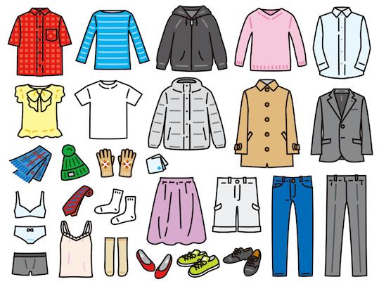 様々な洋服