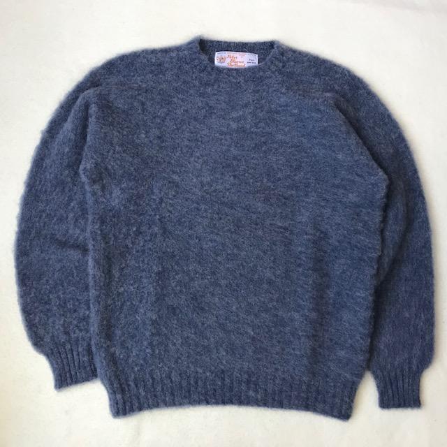 ピーターバランスのシャギードッグセーター