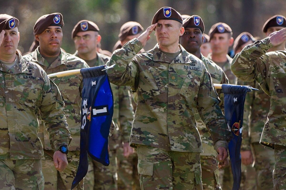 軍隊が使用しているベレー帽