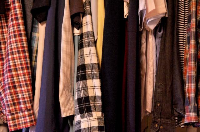 複数枚の洋服