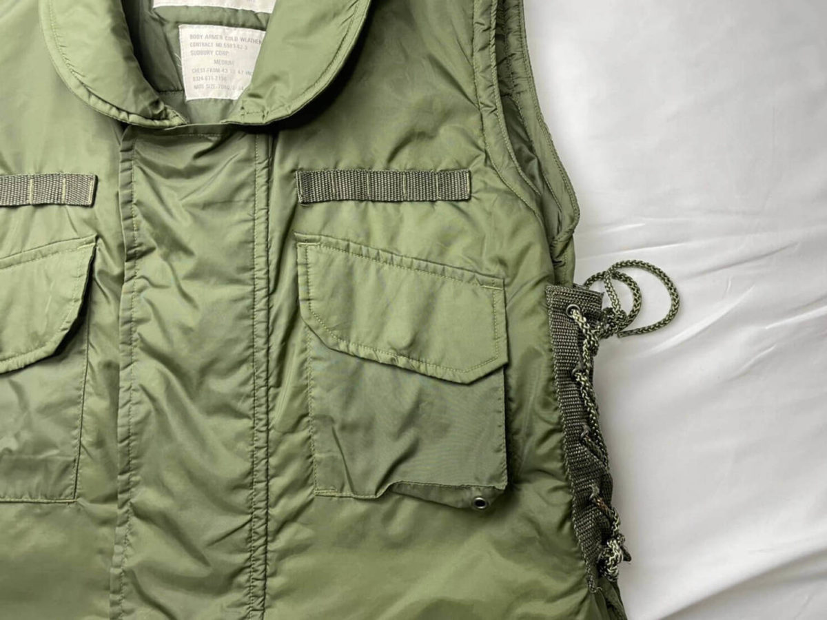 M69のフロントポケット