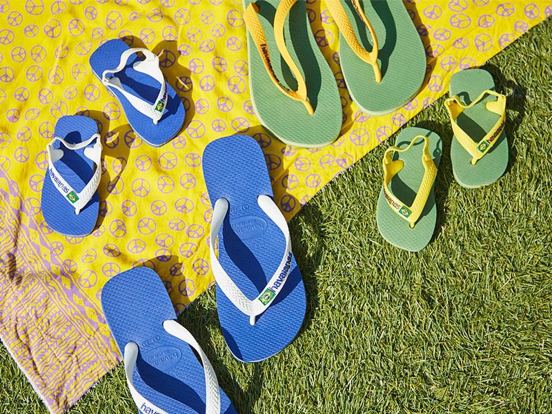 ハワイアナスのビーチサンダル