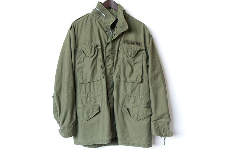 M65フィールドジャケットの全体写真
