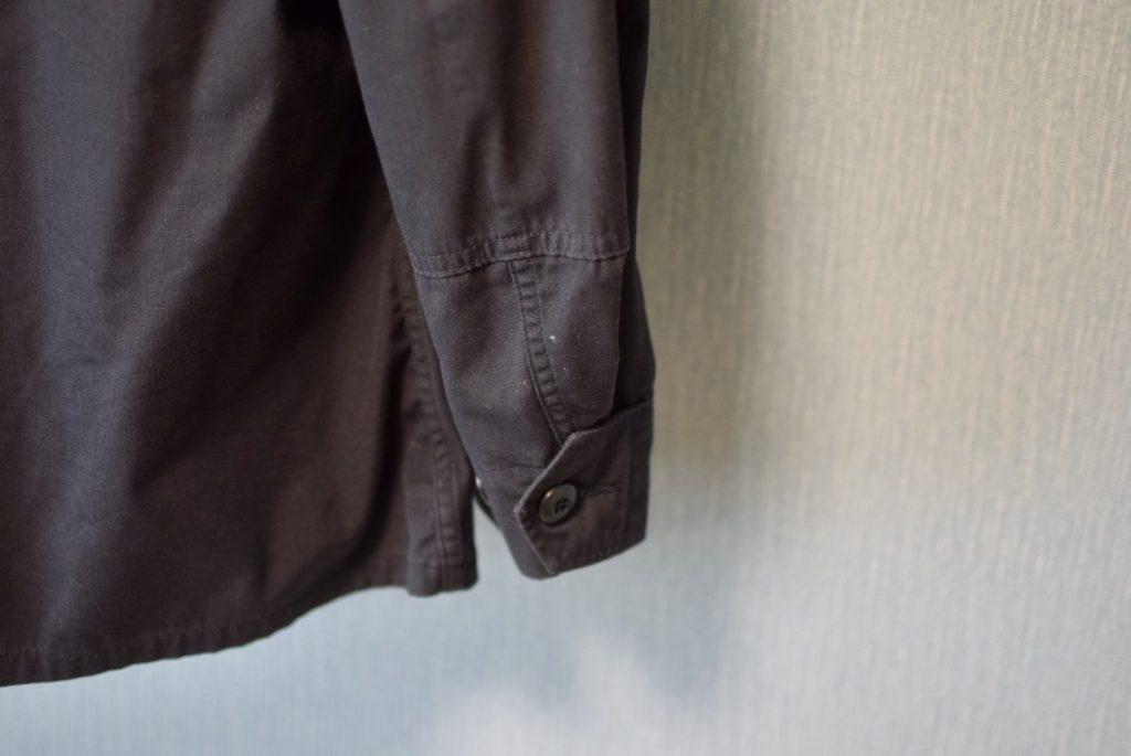 BDUジャケットの袖部分