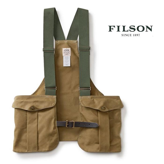 フィルソンのフィッシングベスト