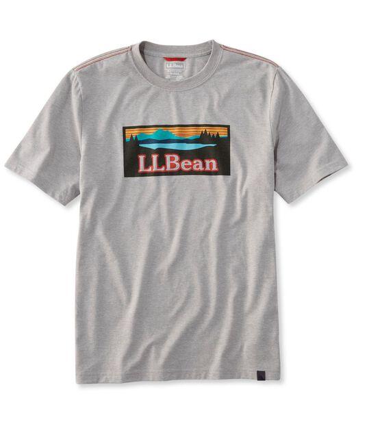 エルエルビーンのロゴTシャツ