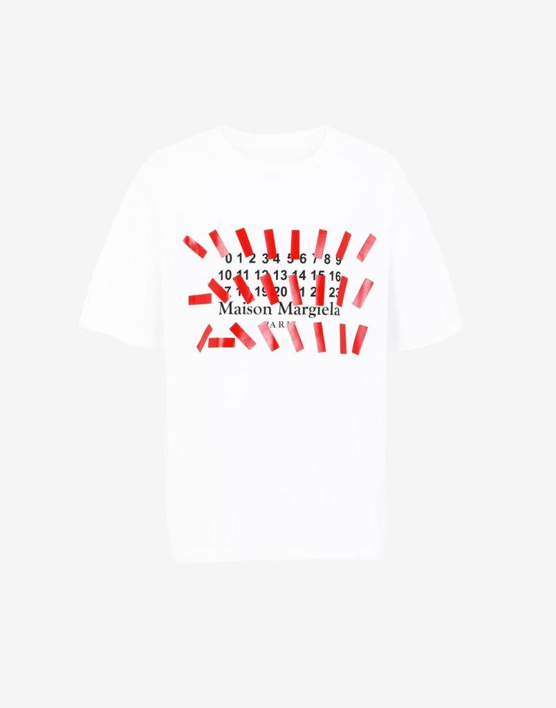 マルジェラのプリントシャツ
