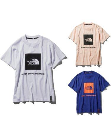 ノースフェイスのロゴTシャツ