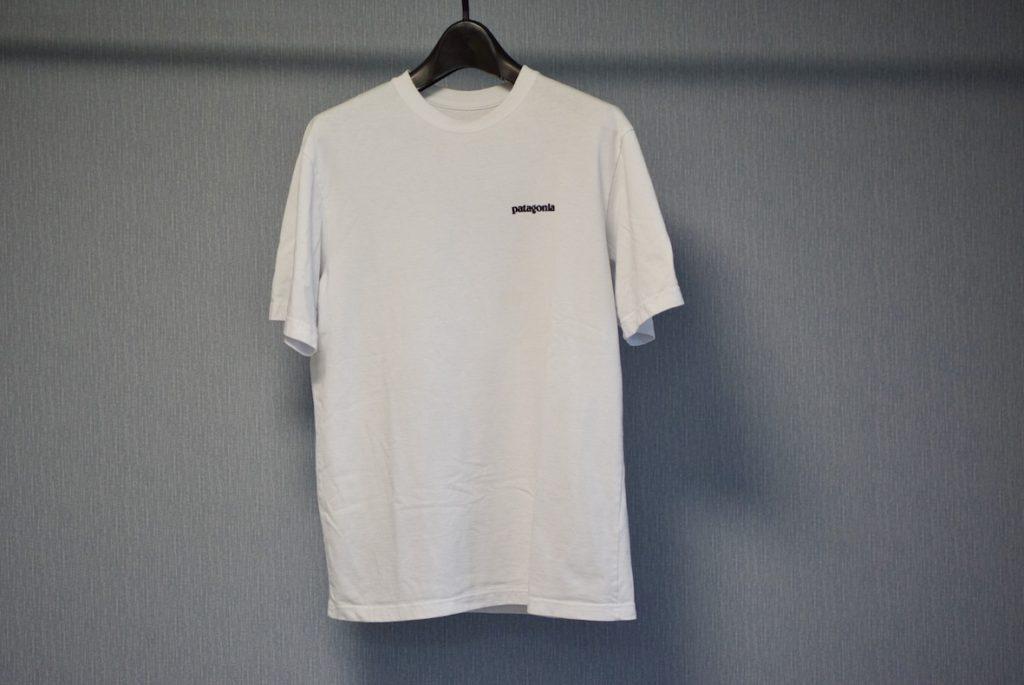 パタゴニアのロゴTシャツフロント