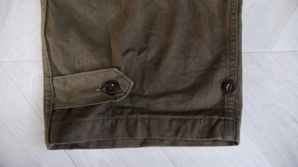 M47パンツの裾