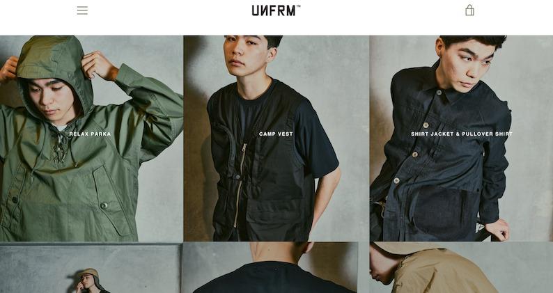 UNFRMのHP