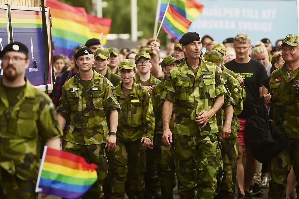 スウェーデン軍の進行