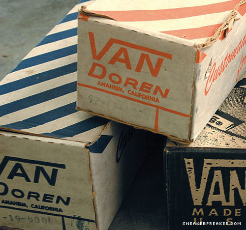 VANSの外箱