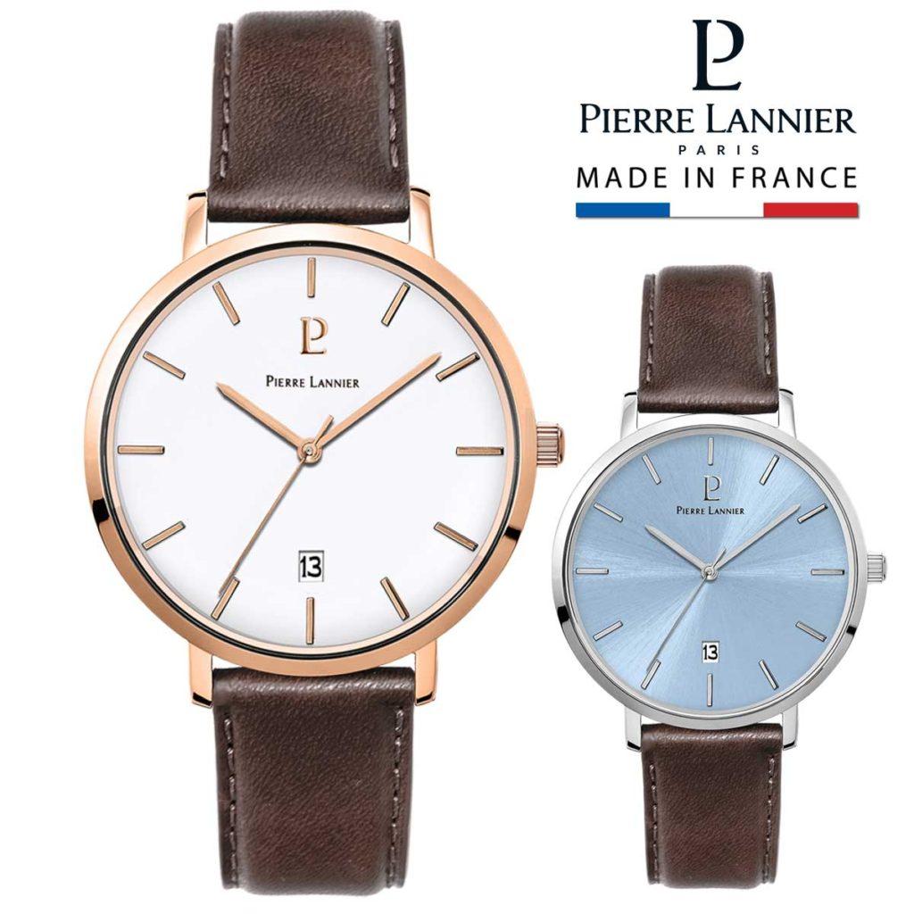 シンプルなピエールラニエの腕時計