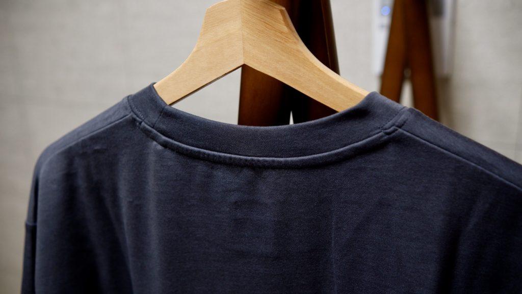 ハイブリッドクールTシャツの背面