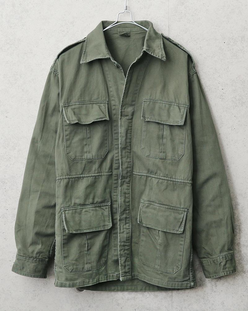 ギリシャ軍インバーテッドフィールドジャケット