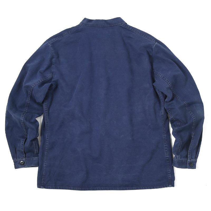 ヘリンボーンツイルワークジャケット2